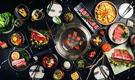 高空享受調酒搭配韓式燒肉的驚奇
